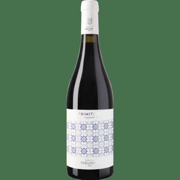 Weinflasche Primitivo Abruzzen