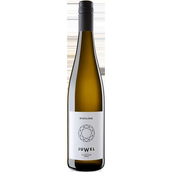 Riesling Weinflasche Juliane Eller Juwel Wein